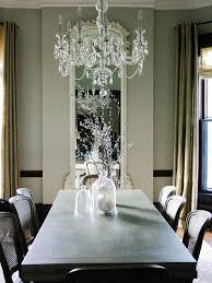 light smoky murano glass modern chandelier modern dining room