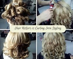 pageant curls hair cruellers versus curling iron hair rollers vs curling irons