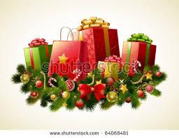 free christmas presents vector download free vector art stock