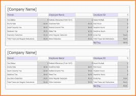 8 make a pay stub template samples of paystubs