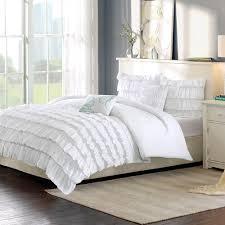 home design comforter intelligent design bedding waterfall comforter set white by