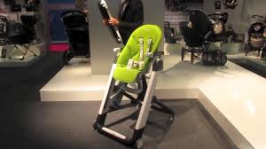 Peg Perego Prima Pappa Rocker High Chair Manual New 2012 Peg Perego Siesta Youtube
