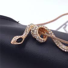 snake pendant necklace images Steampunk multilayer black crystal skull tassel pendant necklace jpg