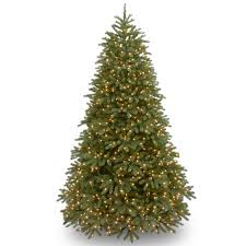 christmas tree with lights national tree co jersey fraser fir 7 5 green artificial christmas