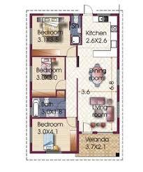 3 Bedroom Bungalow Floor Plans W3313 Simple 3 Bedroom Bungalow Home Plan With Open Floor Plan