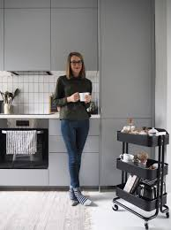 my ikea kitchen makeover the transformation grey portrait and