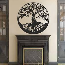 amazon com battoo tree of life vinyl wall decal sticker celtic