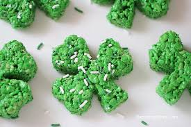 clover rice krispie treats i heart nap time