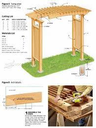 garden arbor plans garden arbor plans woodarchivist