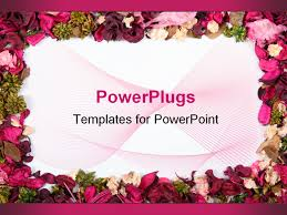 images of flower picture frame powerpoint sc