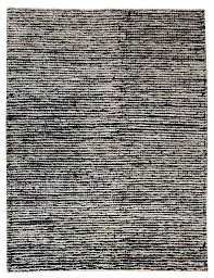 Hemp Area Rug Nature Collection Woven Wool And Hemp Area Rug In Black And