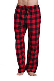 cyz s 100 cotton soft flannel plaid pajama at