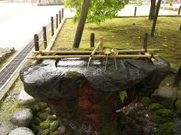 simple design small build japanese bamboo water fountain