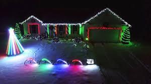 christmas light show 2016 christmas light show 2016 frosty the snowman youtube
