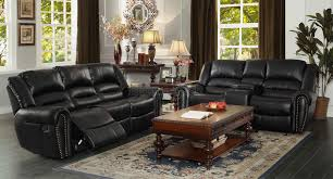 beauteous 90 living room decorating with black leather furniture
