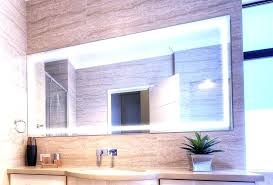 Lighted Bathroom Wall Mirrors Lighted Bathroom Mirrors Magnifying Mirror