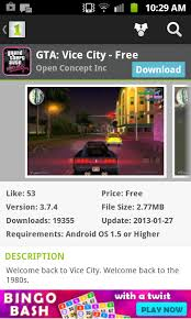 gta vice city free for android android malware dump gta vice city free scam