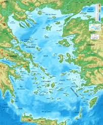 Delphi Greece Map by Greek Islands In The Saronic Gulf Hydra Spetses