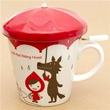 cool cups in the hood little red riding hood cup wolf otogicco japan i mugs