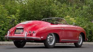 vintage porsche 356 1954 porsche 356 pre a speedster s93 monterey 2016