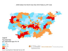 Dallas Tx Zip Code Map by Texas Teen Birth Rate Maps By Metro Area Prevention Research Center