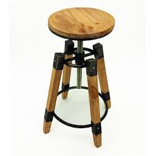 Rustic Modern Wood Furniture Amazon Com Wyland Rustic Contemporary Wood Steel Barstool