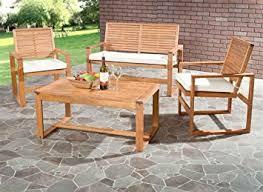 Safavieh Home Furniture Amazon Com Safavieh Home Collection Hailey Outdoor Living Acacia