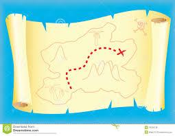 treasure map clipart treasure map royalty free stock photos image 18330138