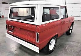 white bronco car original spec 1966 ford bronco classiccars com journal