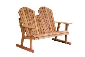 Gliding Adirondack Chairs Chairs Gliders Benches And Tables Greene U0027s Amish Furniture