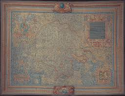 Map Tapestry The Sheldon Tapestry Maps U2013 Warwickshire Heritage And Culture