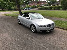 2005 audi a4 convertible 1 8 petrol leather interior long mot