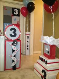 Bowling Party Decorations 86 Best Bowling Party Tyler 11th Images On Pinterest Birthday