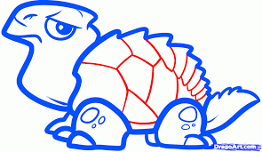 how to draw turtles for kids step by step animals for kids for