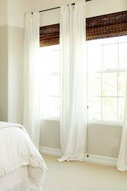 White Bedroom Blinds - decorating decoration ideas cheerful bedroom in white wooden