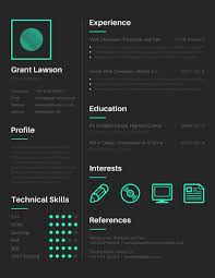 Resume Web Development Resume by Techie Web Developer Resume Templates By Canva