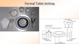 Formal Table Setting By Sanzida Parvin And Sonali Mondal Ppt Video Online Download