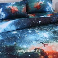 Galaxy Bed Set Wholesale 2016 New 3d Galaxy Bedding Set Universe Outer