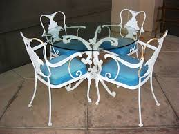 Vintage Iron Patio Furniture - magnificent ideas to fix wrought iron patio furniture u2014 all home