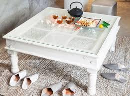 Big Square Coffee Table by Ravishing Azzurro Clear Glass Modern Coffee Table Tags Modern