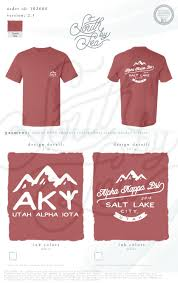 design a shirt in utah alpha kappa psi akpsi business fraternity utah alpha iota