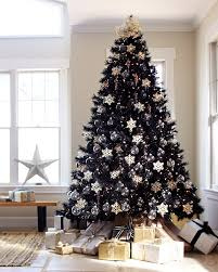 how to decorate a black christmas tree tuxedo black artificial