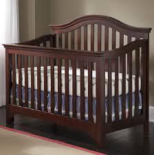 Serta Tranquility Extra Firm Crib Mattress by Creations Mesa Convertible Crib In Java