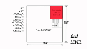 50 sq feet how to calculate square feet 7357