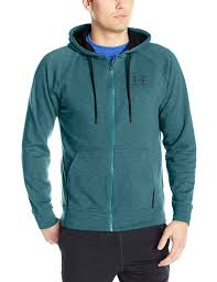 amazon com under armour men u0027s rival fleece zip hoodie under