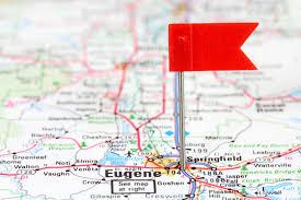 map of oregon eugene eugene oregon poised to be next city to put itself on paid