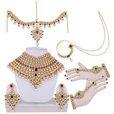 bridal set necklace earring images Buy bridal jewellery sets for wedding collection necklace jpg
