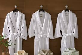 how spending time in your bathroom can help your mental health white spa robes