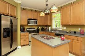 kitchen desaign affordable wood kitchen cabinet set and island