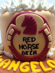 red horse beer cake cakes pinterest beer cakes and cake